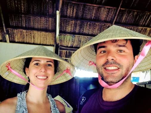 chapeu-vietnamita-armadilha-cu-chi-tunnels-vietna